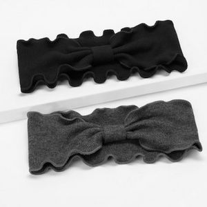 VIVA | Grey & Black Headband 2 pieces